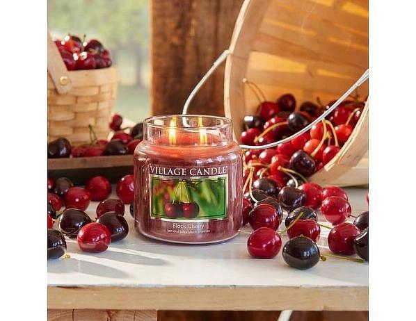 Vonná svíčka ve skle Černá třešeň-Black Cherry, 16oz