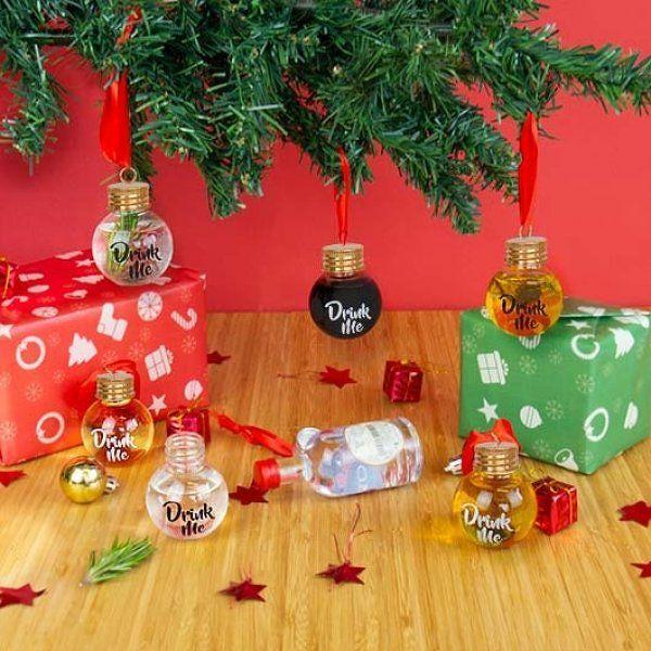 Alkoholové koule na stromeček