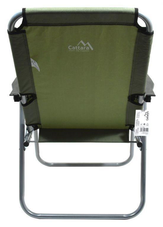 Cattara LYON Židle kempingová skládací tmavě zelená