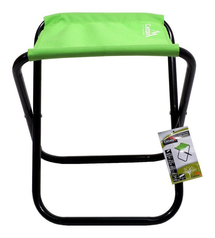 Cattara MILANO Židle kempingová skládací zelená