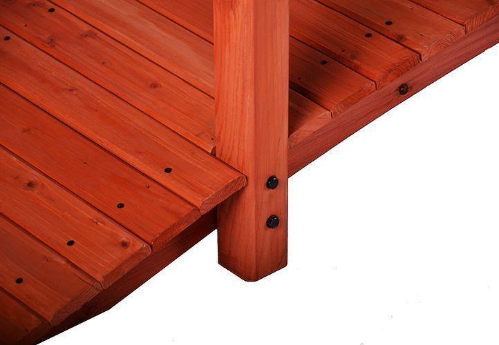 Dřevěný můstek Garth 2,5 m D02012