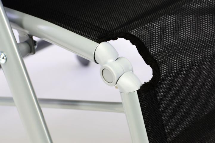 Garthen 35171 Hliníkové skládací křeslo - relaxační lehátko