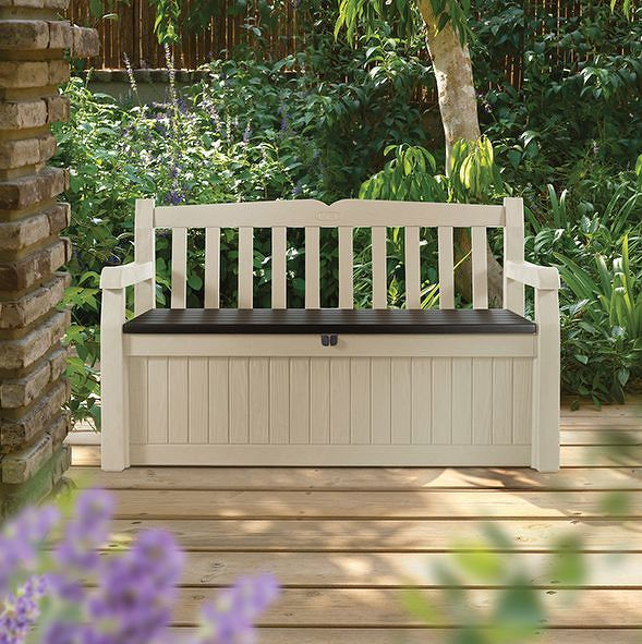 Keter 41450 Zahradní lavice EDEN s úložným prostorem