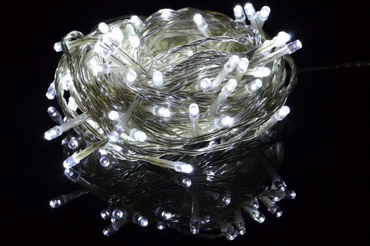 Nexos 42981 Vánoční LED osvětlení 2,85 m- studená bílá 20 diod