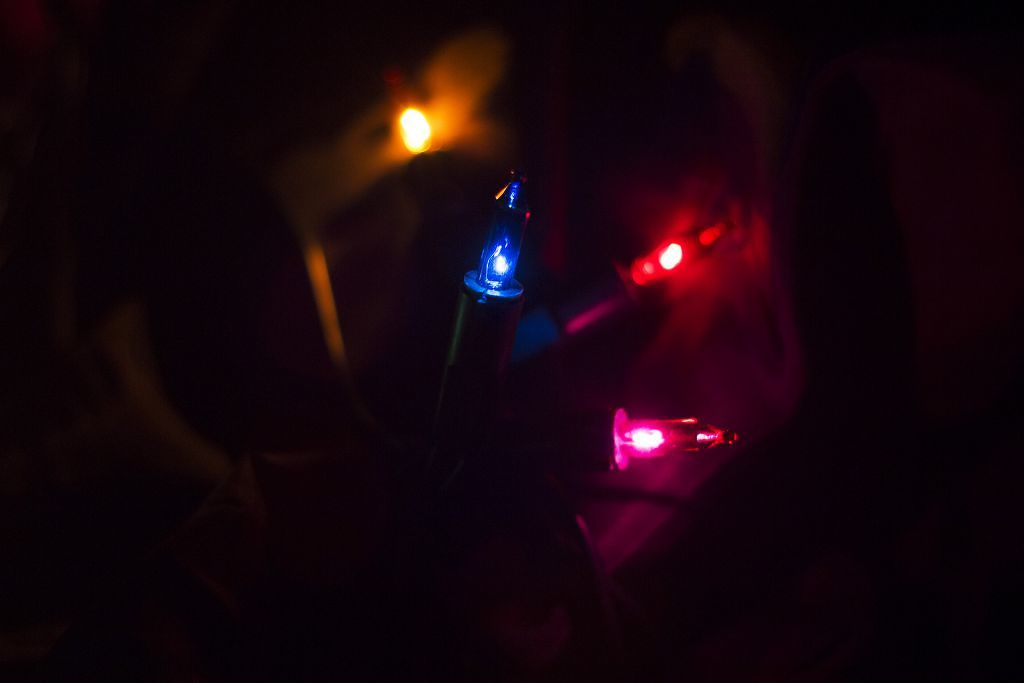 Nexos 43002 Vánoční světelný řetěz - 35 MINI žárovek - barevné