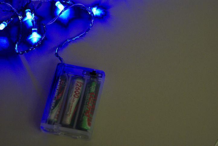 Nexos Garth 818 Vánoční LED osvětlení 4,5m - modré, 30 diod