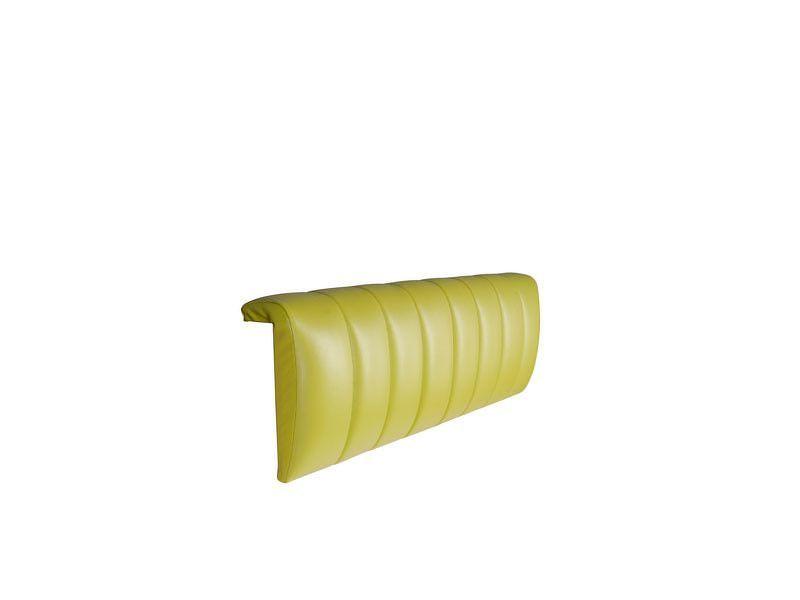 Čalouněný potah na čelo postele HIHOT LOZ/90 zelený hrášek