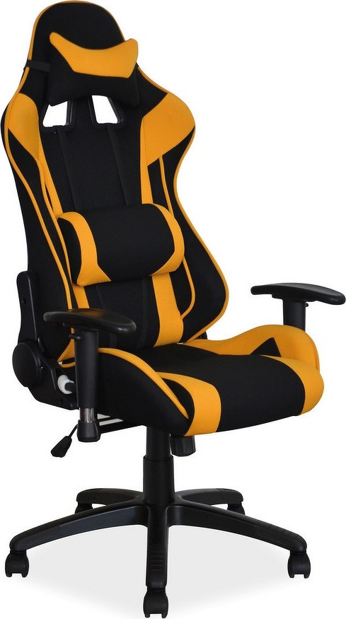 Casarredo Kancelářské křeslo VIPER žlutá/černá