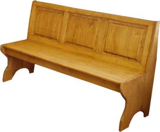 Unis Dřevěná lavice plná velká 00529