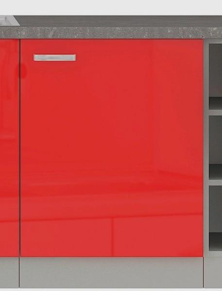 Dolní kuchyňská skříňka Rose 60D, 60 cm