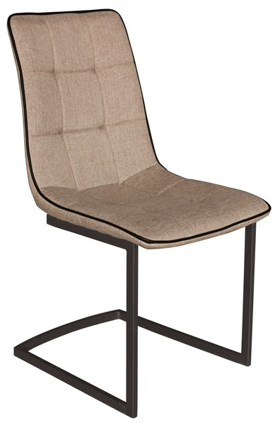 Jídelní židle Ravenna, béžová látka