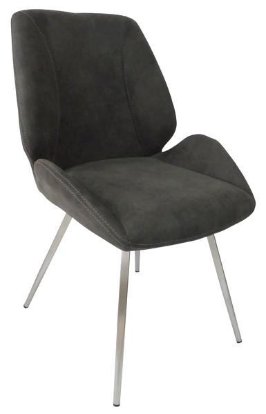 Jídelní židle Rose, tmavě šedá
