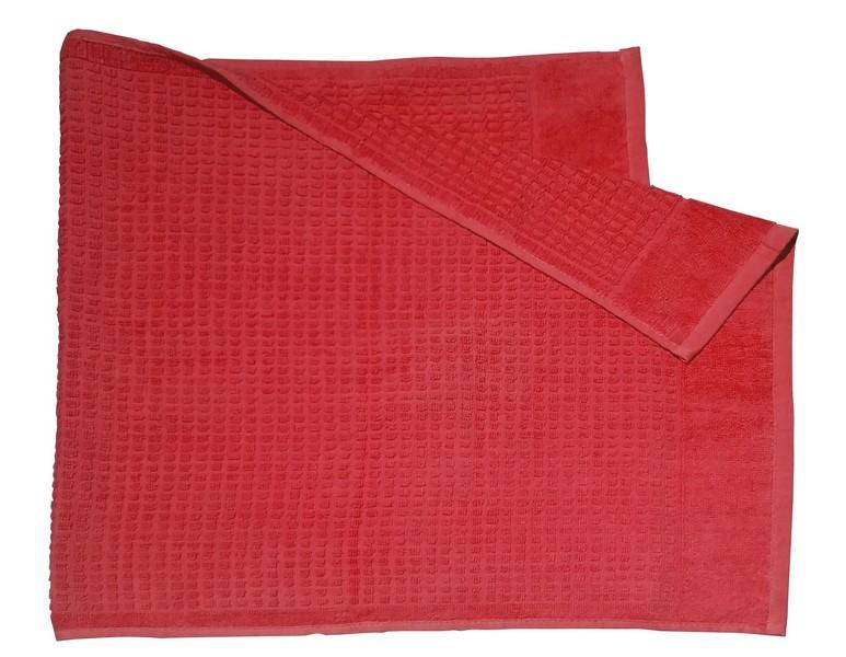 Ručník Faro 50x100 cm, červený