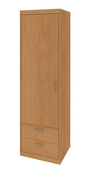 Úzká skříň se zásuvkami Mega 14, buk