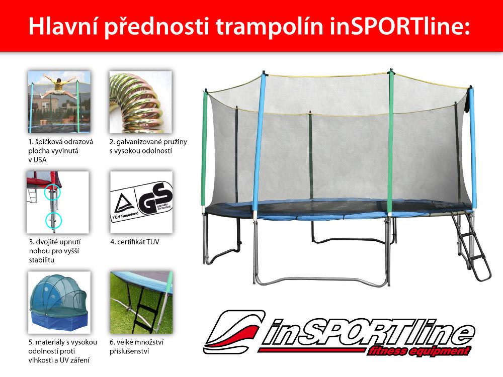inSPORTline Top Jump 366 cm