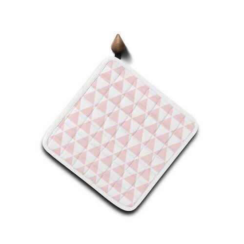 Domarex Kuchyňská podložka Home Chef růžová, 20 x 20 cm