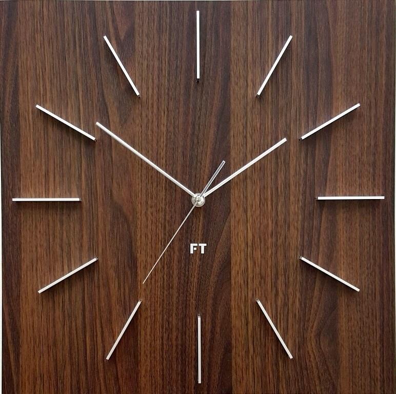 Future Time FT1010WE Square dark natural brown
