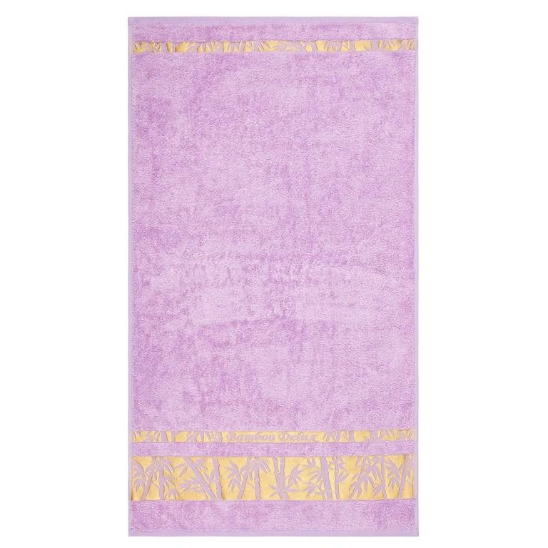 Night in Colours Osuška Bamboo Gold světle fialová, 70 x 140 cm