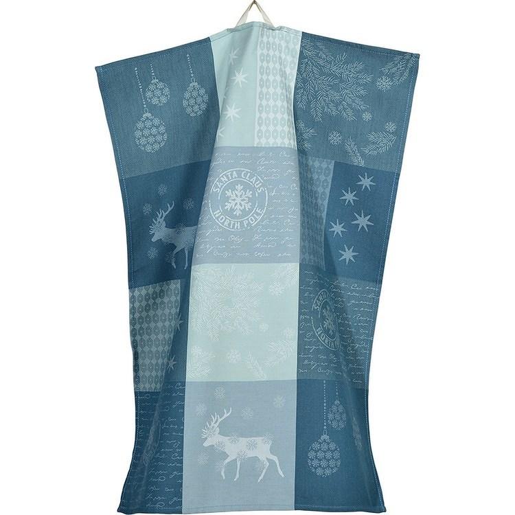 Sander Kuchyňská utěrka Etile du Nord modrá, 50 x 70 cm