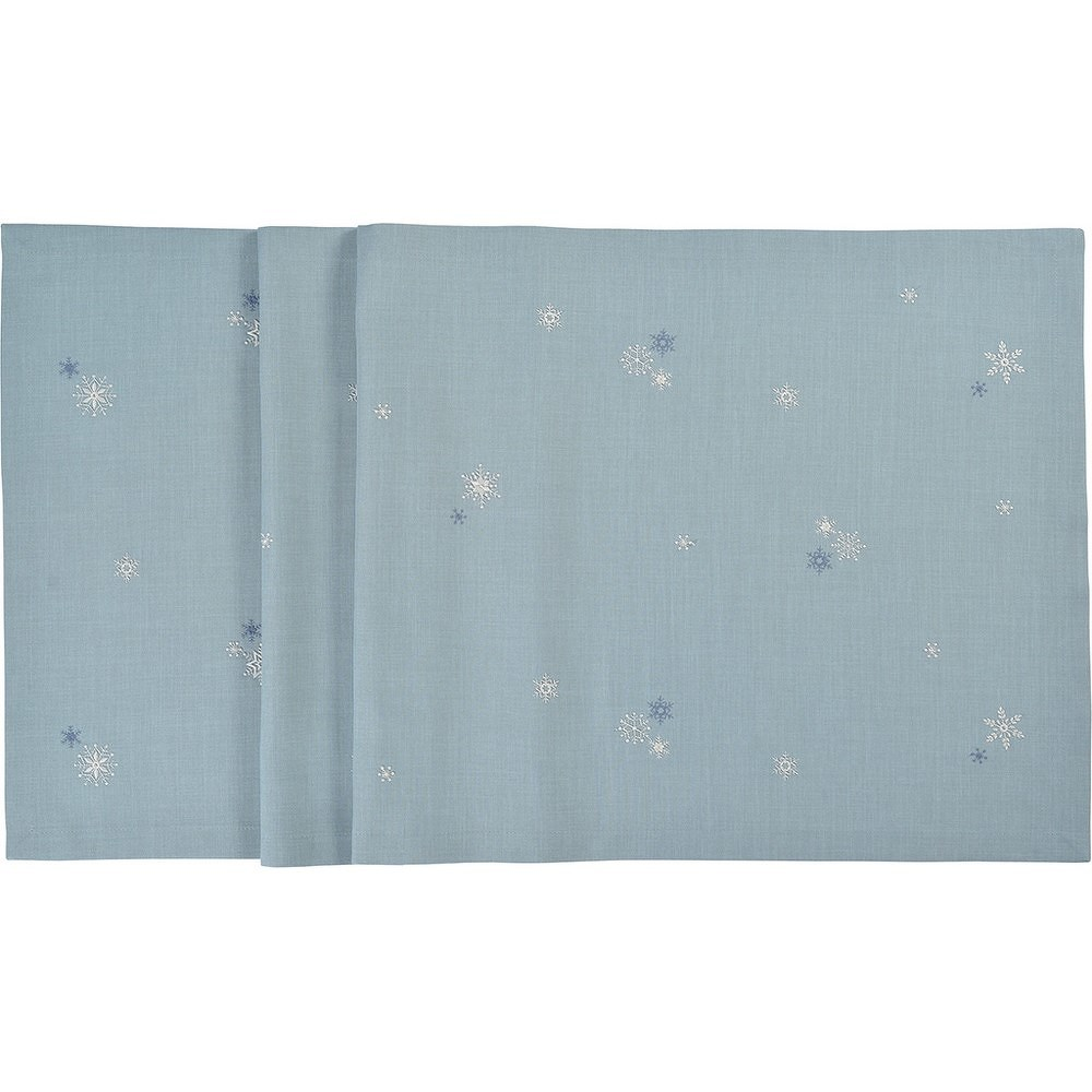 Sander Ubrus Crystalized modrá 50 x 150 cm