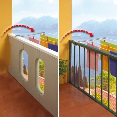 Sušák na prádlo balkonový RING