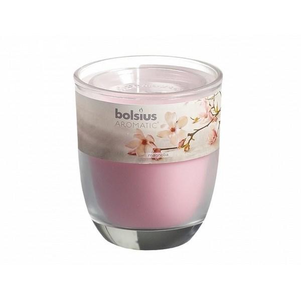 Svíčka ve skle Magnólie, 110 g