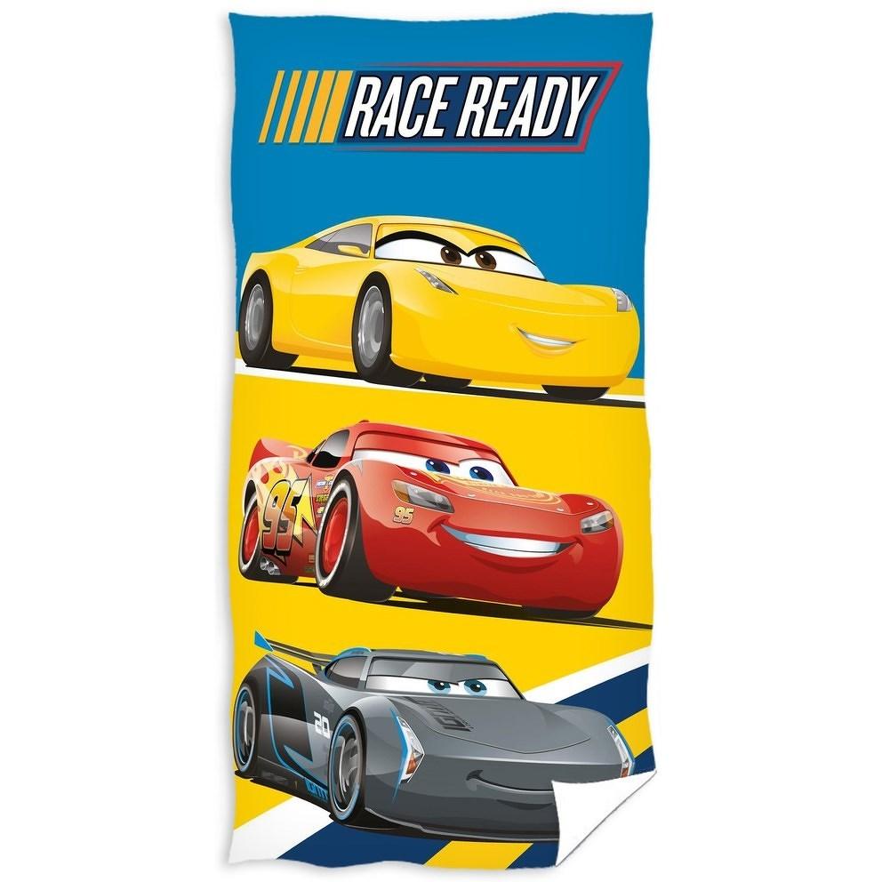 TipTrade Osuška Cars Race ready, 70 x 140 cm