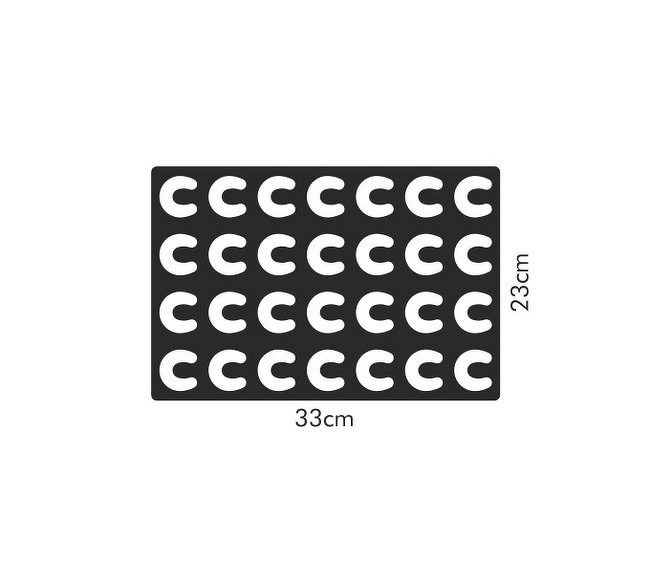 Vykrajovací forma na rohlíčky Tescoma DELÍCIA /630890/
