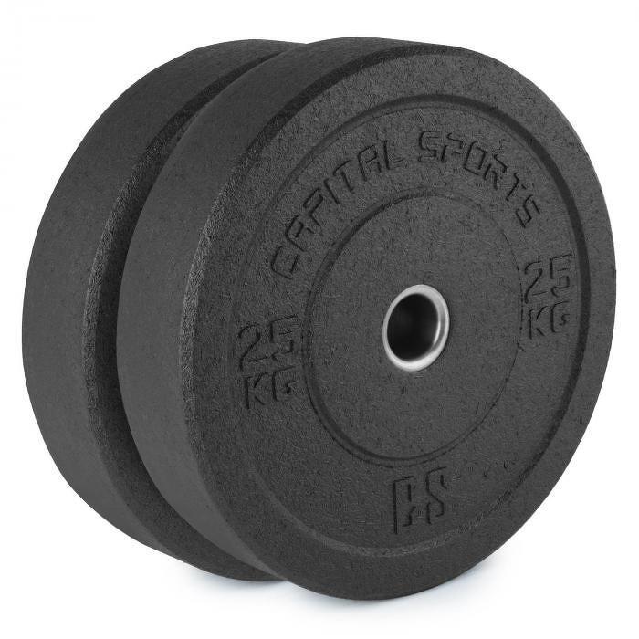 Capital Sports Reni, hi temp gumový kotouč, 50,4 mm, hliníkové jádro, guma, 2x 25 kg