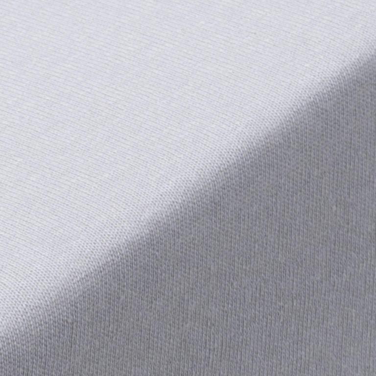 Hermann Cotton Napínací prostěradlo jersey GRAND platinově šedé 180 x 200 cm