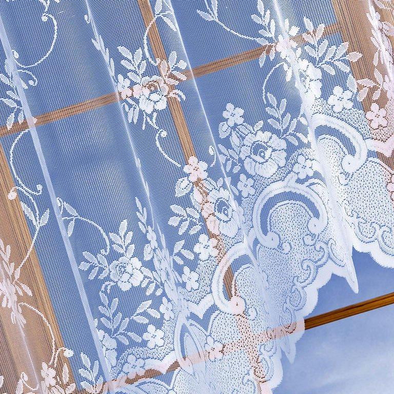 Hotová žakárová záclona Amélie