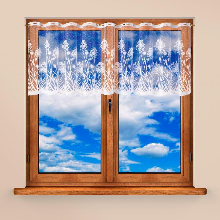 Vitrážková záclona MARIKA 60 x 300 cm