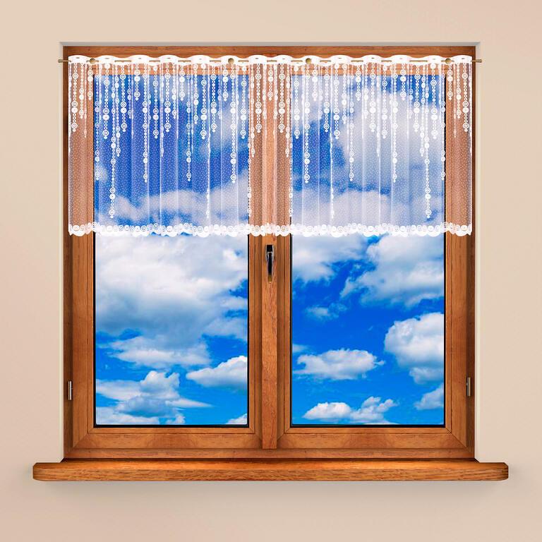 Vitrážková záclona RIA 60 x 300 cm