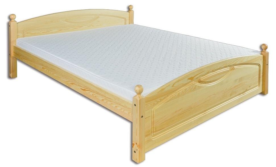 Jednolůžková postel 120 cm LK 103 (masiv)