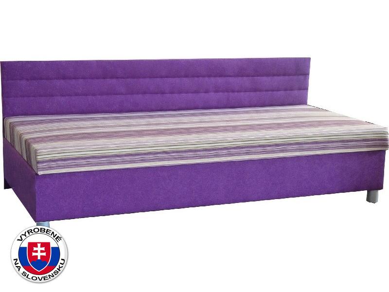 Jednolůžková postel (válenda) 110 cm Etile 1 (s molitanovou matrací)