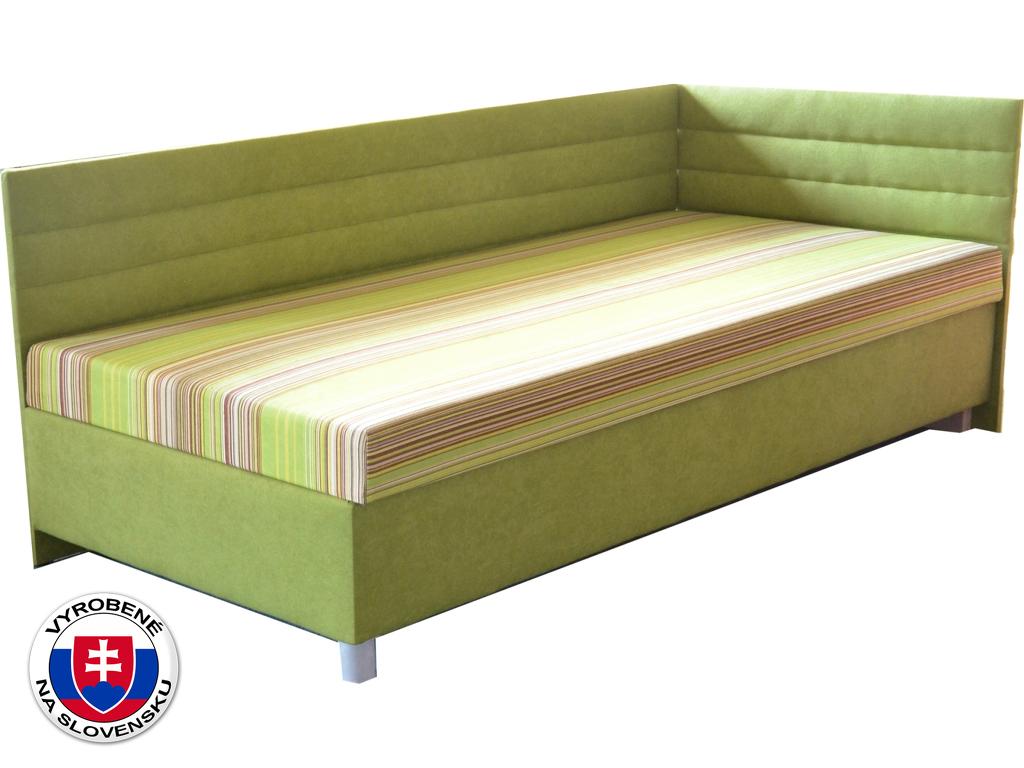 Jednolůžková postel (válenda) 110 cm Etile 2 (se 7-zónovou matrací standard) (P)