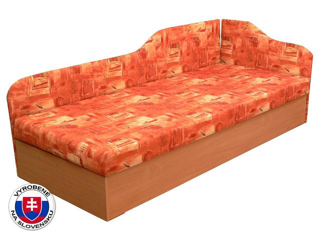 Jednolůžková postel (válenda) 80 cm Edo 4/2 (s molitanovou matrací) (P)