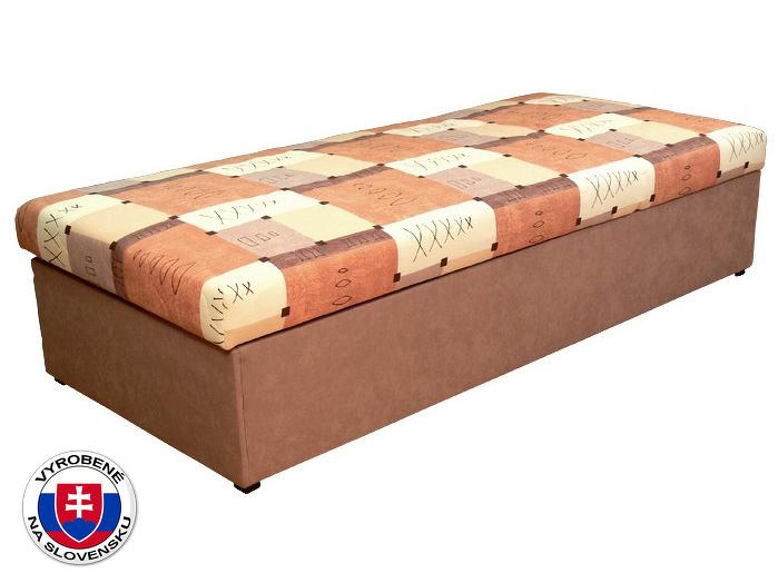 Jednolůžková postel (válenda) 90 cm Palermo (s molitanovou matrací)
